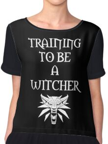 Training to Be a Witcher Chiffon Top