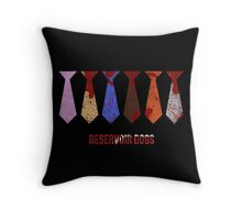 -TARANTINO- Reservoir Dogs Ties Throw Pillow