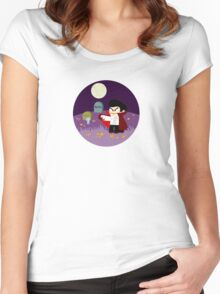 Tiny Dracula  Women's Fitted Scoop T-Shirt