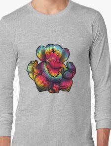 Tie-Dye Ganesha Long Sleeve T-Shirt