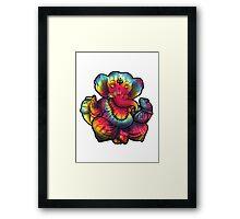 Tie-Dye Ganesha Framed Print