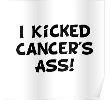 Kicked Cancer Poster