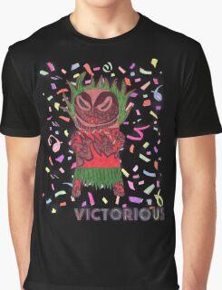 Victorious Tiki Graphic T-Shirt