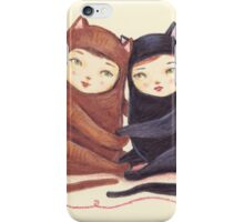 The Love Cats iPhone Case/Skin