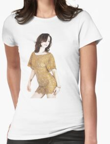 Christina Ricci Womens Fitted T-Shirt