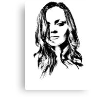 Christina Ricci Canvas Print
