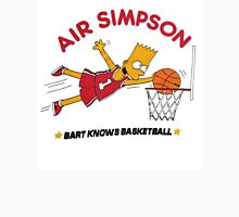 AIR SIMPSON-BART KNOWS BASKETBALL Unisex T-Shirt