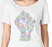 Power to the Peaceful Women's Relaxed Fit T-Shirt