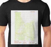 USGS TOPO Map Alaska AK Anchorage D-8 SE 353646 1983 25000 Unisex T-Shirt