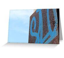 Abandoned Graffiti  Greeting Card