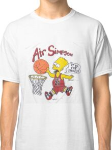 AIR SIMPSON-IT'S IN THE SHOES Classic T-Shirt