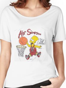AIR SIMPSON-IT'S IN THE SHOES Women's Relaxed Fit T-Shirt