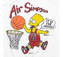 AIR SIMPSON-IT'S IN THE SHOES Photographic Print