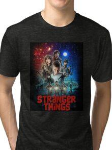 Stranger Things (Goonies) Tri-blend T-Shirt