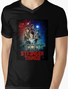 Stranger Things (Goonies) Mens V-Neck T-Shirt