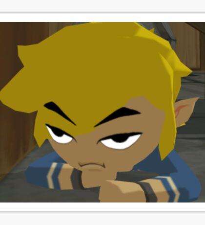 Disappointed Link  Sticker