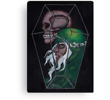 Horsemen Series - Death Canvas Print