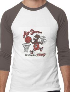 """AIR SIMPSON BLACK BART """"YOU CAN'T TOUCH THIS"""" Men's Baseball ¾ T-Shirt"""