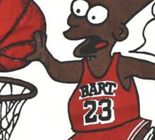 "AIR SIMPSON BLACK BART ""YOU CAN'T TOUCH THIS"" Sticker"