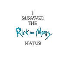 Rick and Morty - Survivor Photographic Print