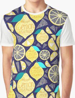 Bright pattern of lemons  Graphic T-Shirt