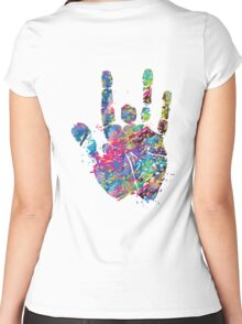 Jerry Hand Women's Fitted Scoop T-Shirt