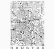 Houston Map Line Unisex T-Shirt
