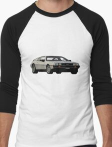 DeLorean Vector Men's Baseball ¾ T-Shirt