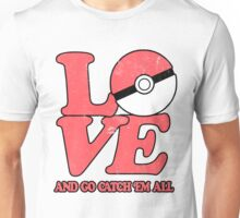 Poke-Love #2 Unisex T-Shirt