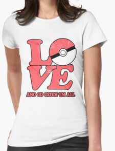 Poke-Love #2 Womens Fitted T-Shirt