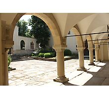 Armenian Cathedral Courtyard Photographic Print