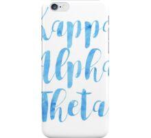 Kappa Alpha Theta iPhone Case/Skin