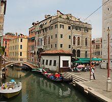 Venice canals 8 by Elena Skvortsova