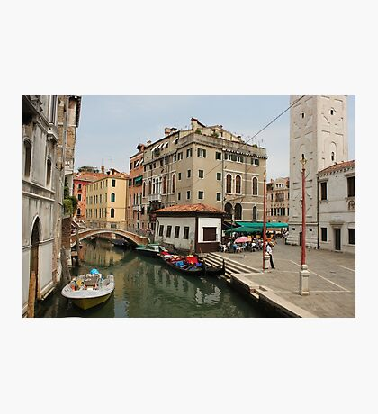 Venice canals 8 Photographic Print