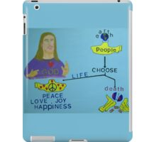 God, the Beatles, and the Yellow Submarine iPad Case/Skin