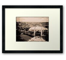 View from the London Eye Framed Print
