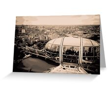 View from the London Eye Greeting Card