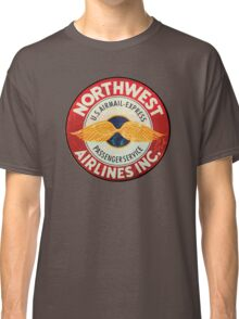 Northwest Airlines Vintage sign Classic T-Shirt