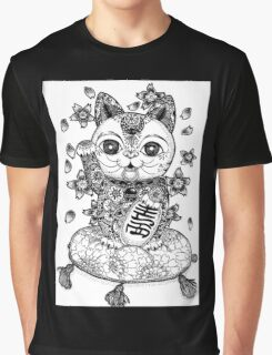 Manege Neko  Graphic T-Shirt