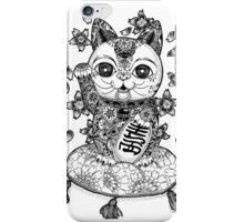 Maneki Neko  iPhone Case/Skin