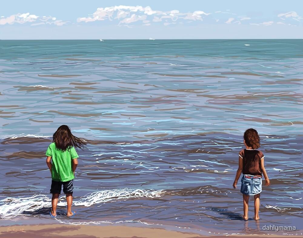 Getting Their Feet Wet by Shawna Rowe