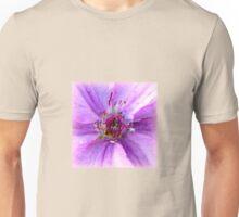 Lilac Beauty ~ Clematis unfolding Unisex T-Shirt