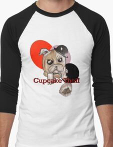 Cupcake Thief Men's Baseball ¾ T-Shirt