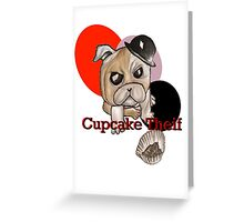 Cupcake Thief Greeting Card