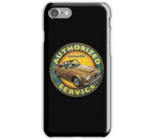 Datsun 2000 Fairlady Authorized service iPhone Case/Skin