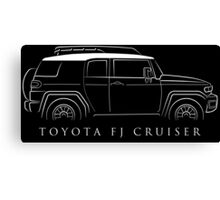 Toyota FJ Cruiser - profile Canvas Print