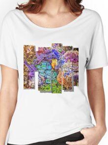 Yachats Oregon - Magic Ocean Life Women's Relaxed Fit T-Shirt