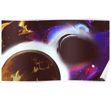 Whirly Space Poster