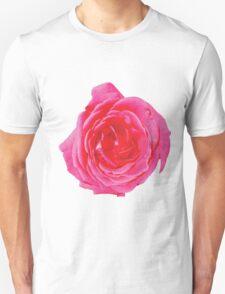 Beautiful big red rose Unisex T-Shirt