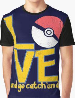 Poke-Love #3-b Graphic T-Shirt